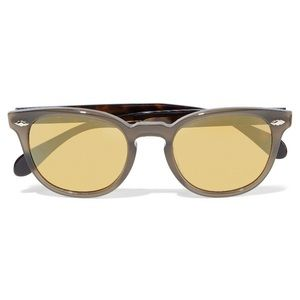 OLIVER PEOPLES Round-frame Acetate Sunglasses